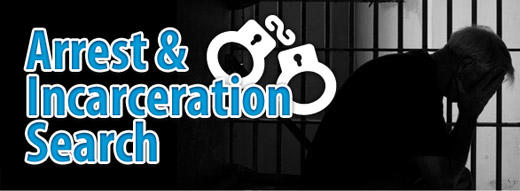 Arrest and Incarceration Search